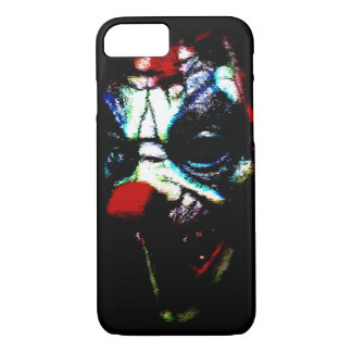 Scary Shadow Clown iPhone 7 Case