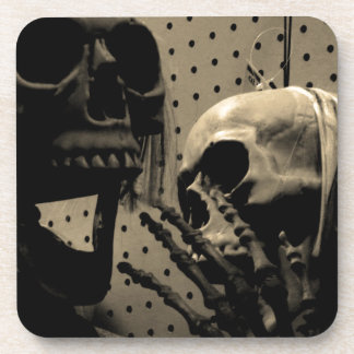 Scary Skeleton Items Coaster