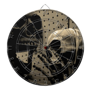 Scary Skeleton Items Dartboard