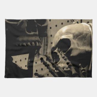 Scary Skeleton Items Kitchen Towel