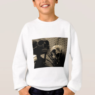 Scary Skeleton Items Sweatshirt