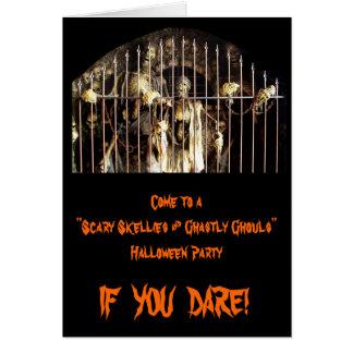 Scary Skellies & Ghastly Ghouls Card
