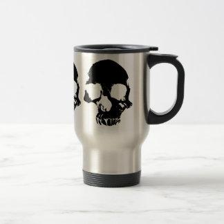 Scary skull cool gothic travel mug