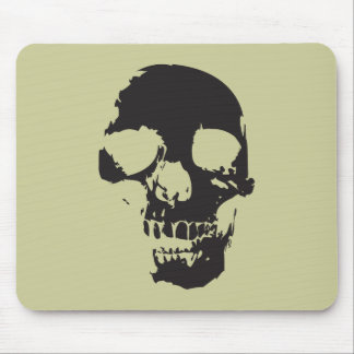 Scary Skull Mouse Pads