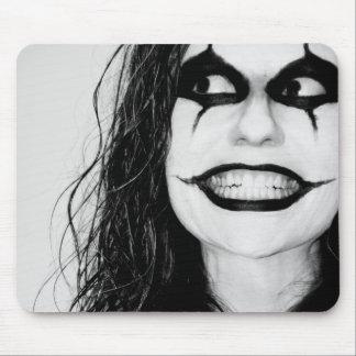 Scary smile mousepad