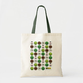 Scary Smiles -  Classic Monsters Budget Tote Bag