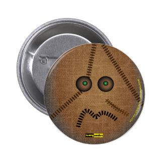 Scary Smiles -  The Scarecrow 6 Cm Round Badge