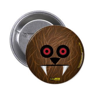 Scary Smiles - Werewolf 6 Cm Round Badge