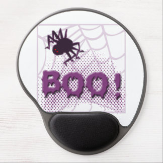 Scary spider gel mousepad