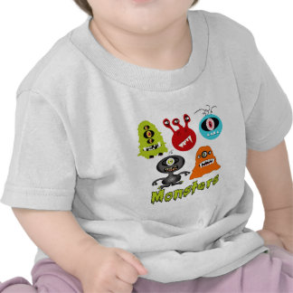 Scary Spooky Monsters Aliens Creatures T Shirt
