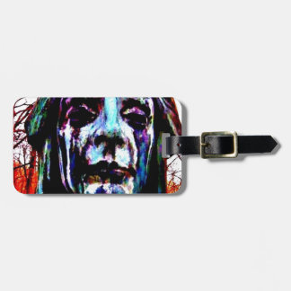Scary Statue Luggage Tag
