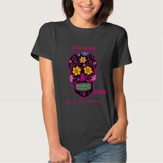 Scary Sugar Skull Tee Shirt