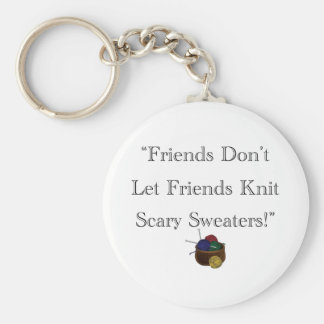 Scary Sweaters! Key Ring