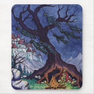 scary tale fairytale mousepad