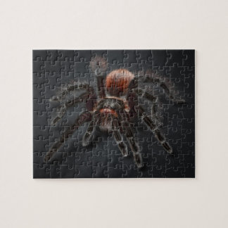 Scary Tarantula Spider Arachnophobia Jigsaw Puzzle