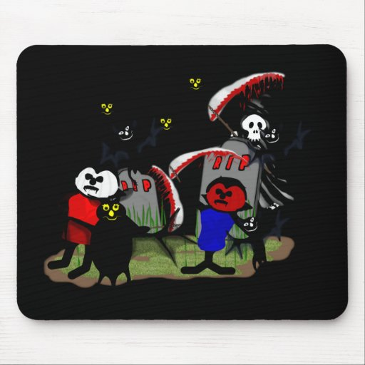 Scary Toons Mouse Pads