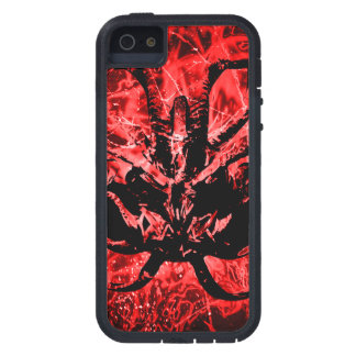 Scary Tribal Mask Tough Xtreme iPhone 5 Case