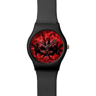 Scary Tribal Mask Watch