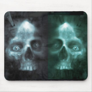 scary Twin Mouse Pad