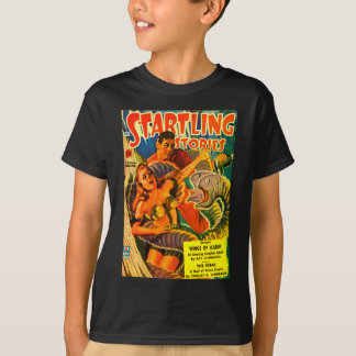Scary Two-headed Space Eel T-Shirt