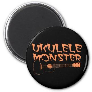 scary ukulele magnet