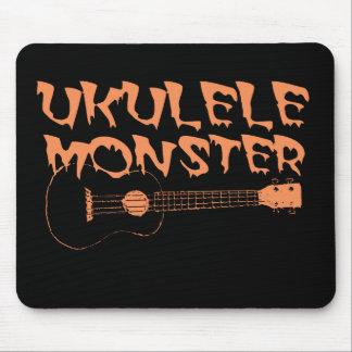 scary ukulele mouse pad