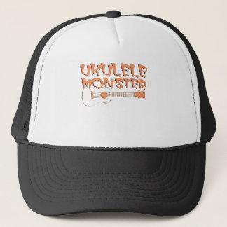 scary ukulele trucker hat