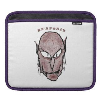Scary Vampire Drawing iPad Sleeve