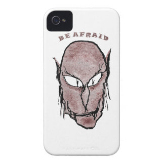 Scary Vampire Drawing iPhone 4 Covers