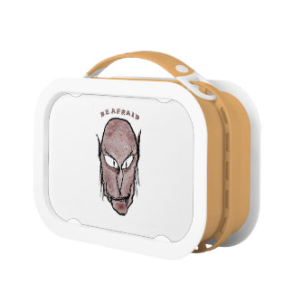 Scary Vampire Drawing Lunch Box