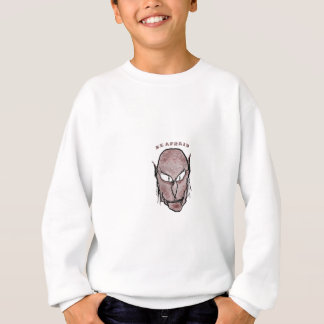 Scary Vampire Drawing Sweatshirt