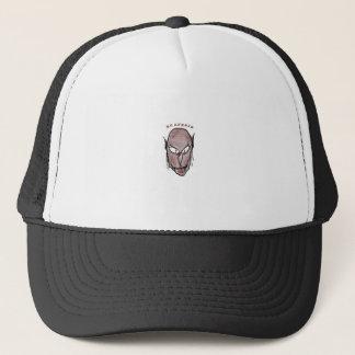 Scary Vampire Drawing Trucker Hat