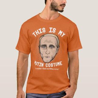 Scary Vladimir Putin Halloween Costume T-Shirt