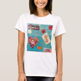 Scatter Joy! Glitter Collage Decorates Things T-Shirt