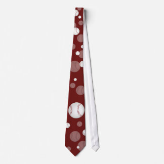 Scattered Baseball | Sports Gift Tie