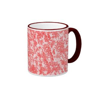 Scattered-Daisies Ringer Mug