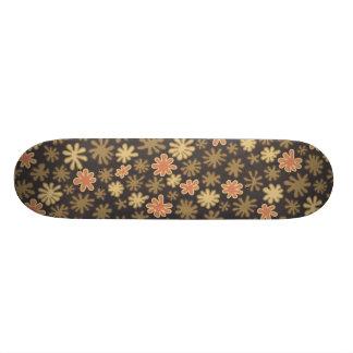 Scattered Flowers Pattern 19.7 Cm Skateboard Deck