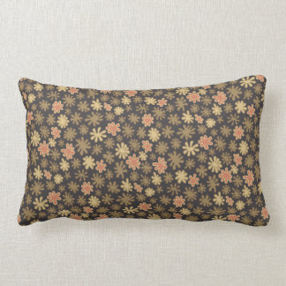 Scattered Flowers Pattern Lumbar Cushion