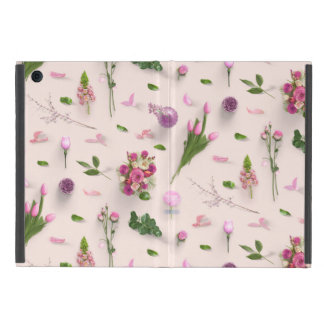 Scattered Flowers Pink Case For iPad Mini