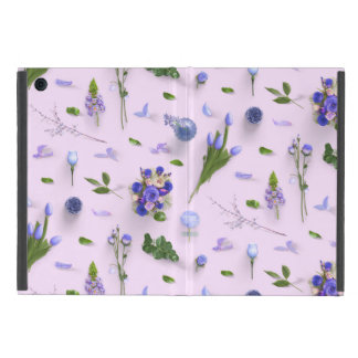 Scattered Flowers Purple Cover For iPad Mini