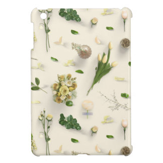 Scattered Flowers Yellow Case For The iPad Mini