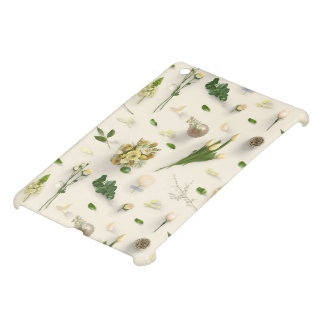 Scattered Flowers Yellow iPad Mini Cover