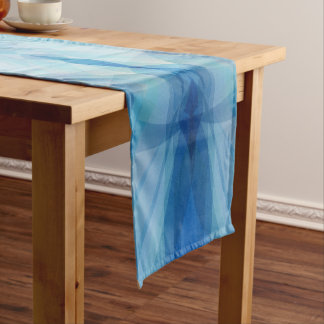 Scattered Petals Short Table Runner
