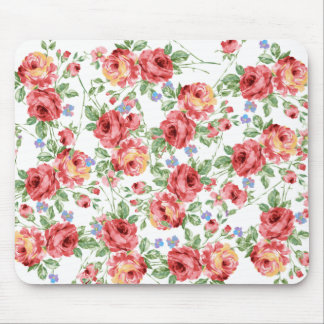 Scattered Roses Mouse Pad