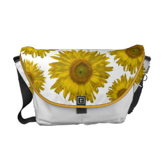 Scattered Sunflowers Rickshaw Messenger Bag