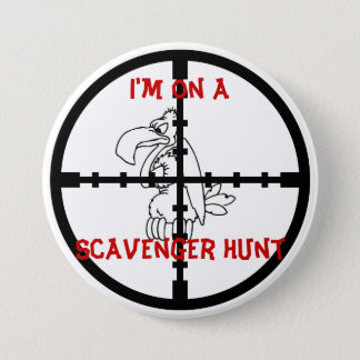 Scavenger Hunt 7.5 Cm Round Badge