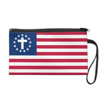 SCC Patriotic Christian Wristlet
