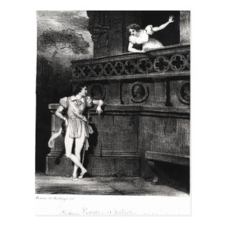 Scene from Act III of 'Romeo and Juliet' Postcard