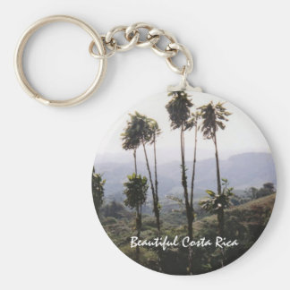 Scene from Arenal - Beautiful Costa Rica Key Ring