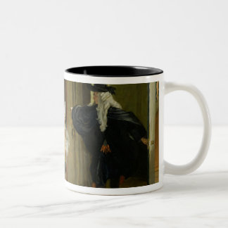 Scene from 'Le Malade Imaginaire' by Moliere (1622 Two-Tone Coffee Mug